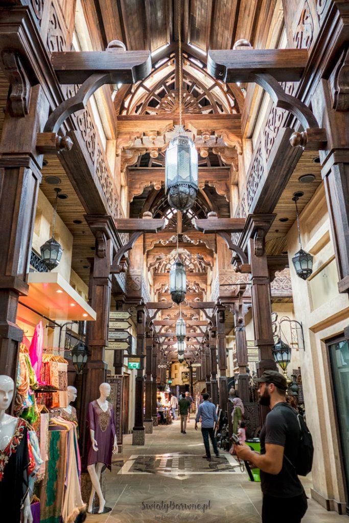 Souk Madinat Jumeirah w Dubaju