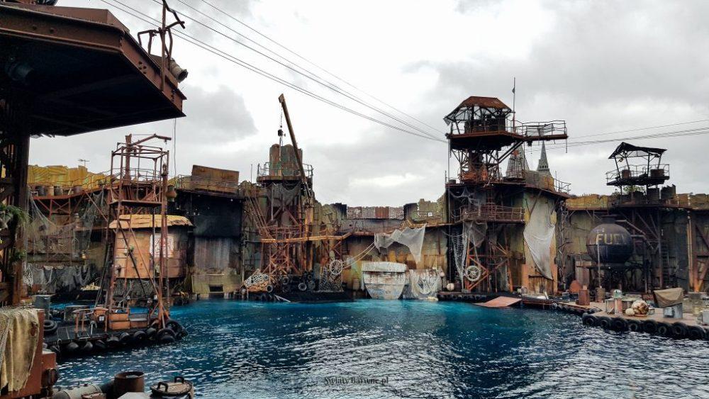 Scenografia WaterWorld w Universal Studios Hollywood, Los Angeles