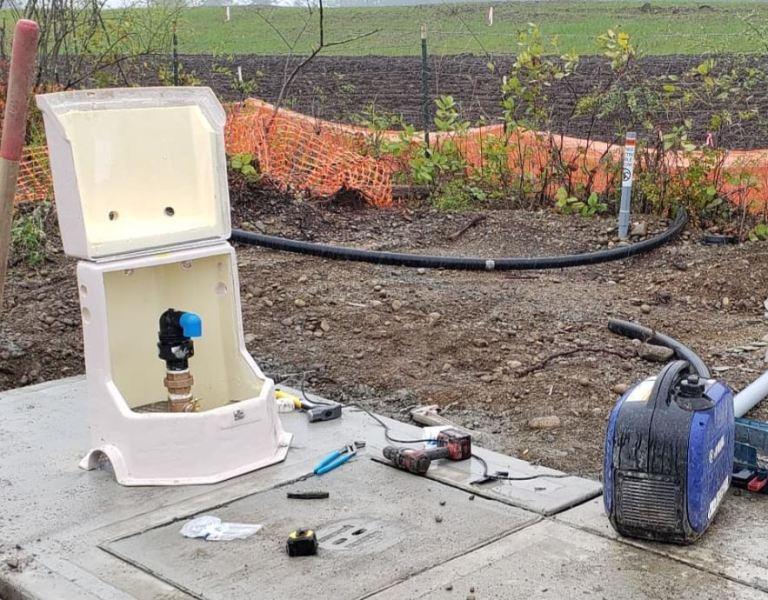 water meter for water main
