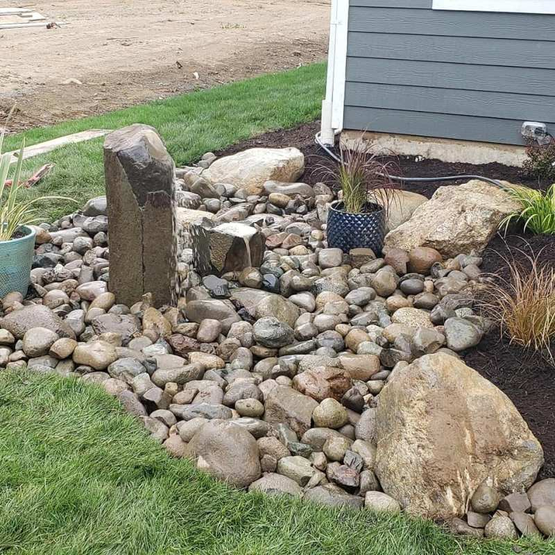 water features near house