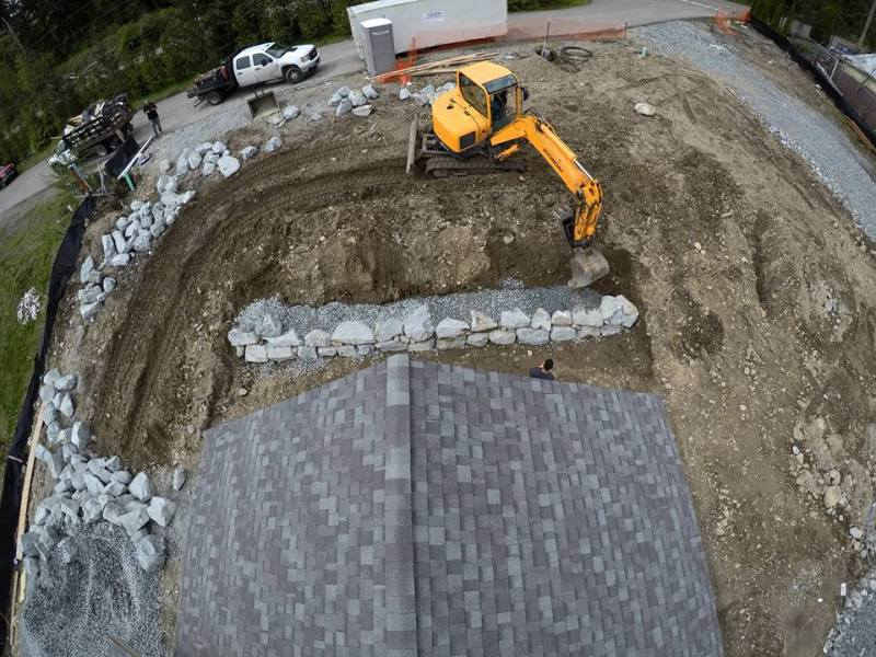 residential hardscape project