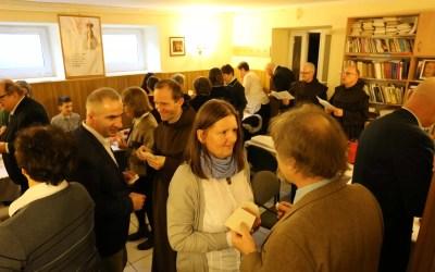 Spotkanie opłatkowe wWarszawskiej Wspólnocie OCDS