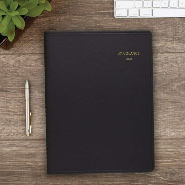 At A Glance 2021 Weekly Planner Black Cover