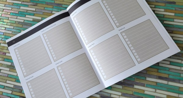 Goal Planner multiple planning areas for personal and professional goals