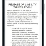 Release of Liability Waiver Form – Free
