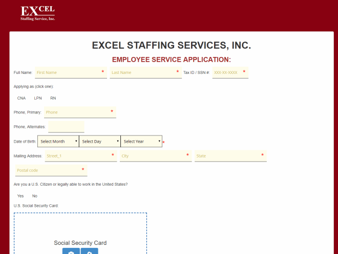 Free HR Templates and Forms Example