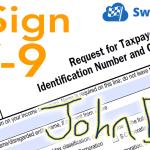 W-9 Electronic Signature