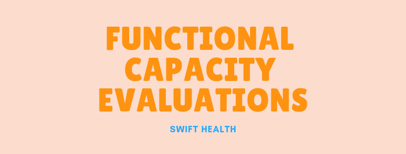 Functional Capacity Evaluation and Occupational Therapy