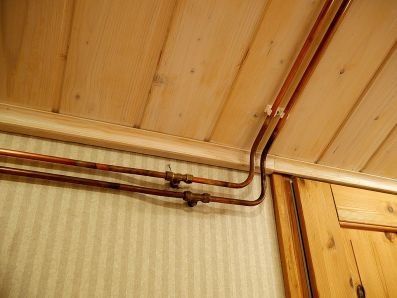 Exposed Water Pipes