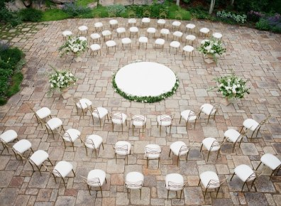 Panoramic Seating - Creative wedding ideas