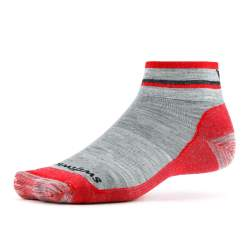 Swiftwick Pursuit Hike Two Ultralight Heather Red Sock