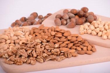 nozes e amendoas