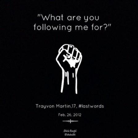 Trayvon Martin, 17