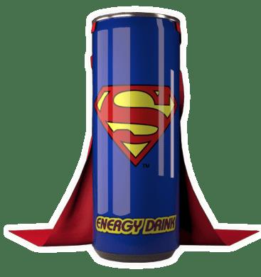 Superman bebida energetica