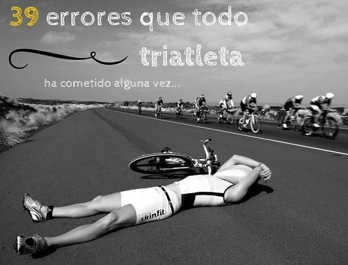 39 errores de triatleta