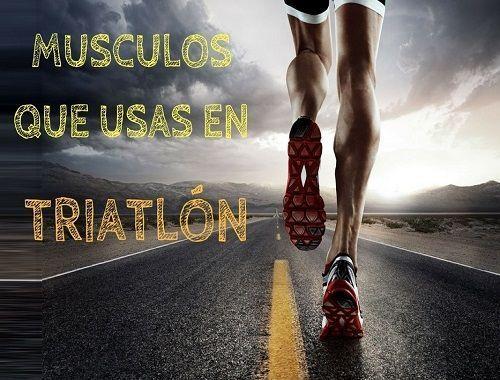 Músculos que usas en triatlón