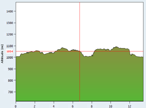 Xterra Suiza bike profile