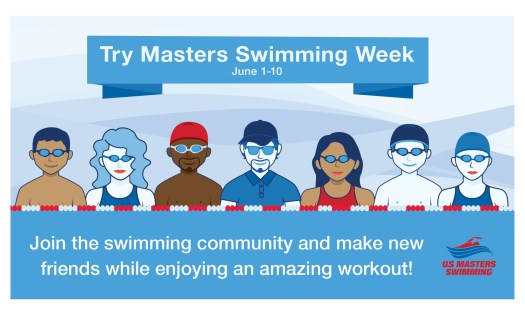 Try Masters Swimming Week