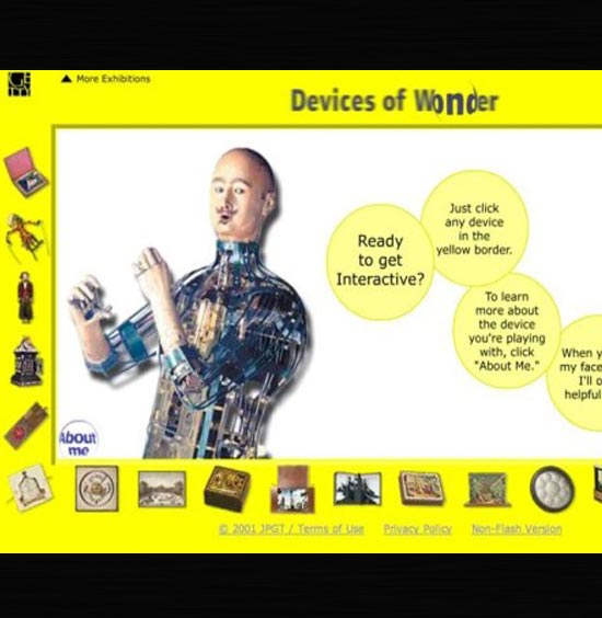 Getty: Devices of Wonder