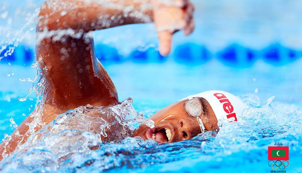 Ismail Muthasim Renews the National Record for 1500m Freestyle Event