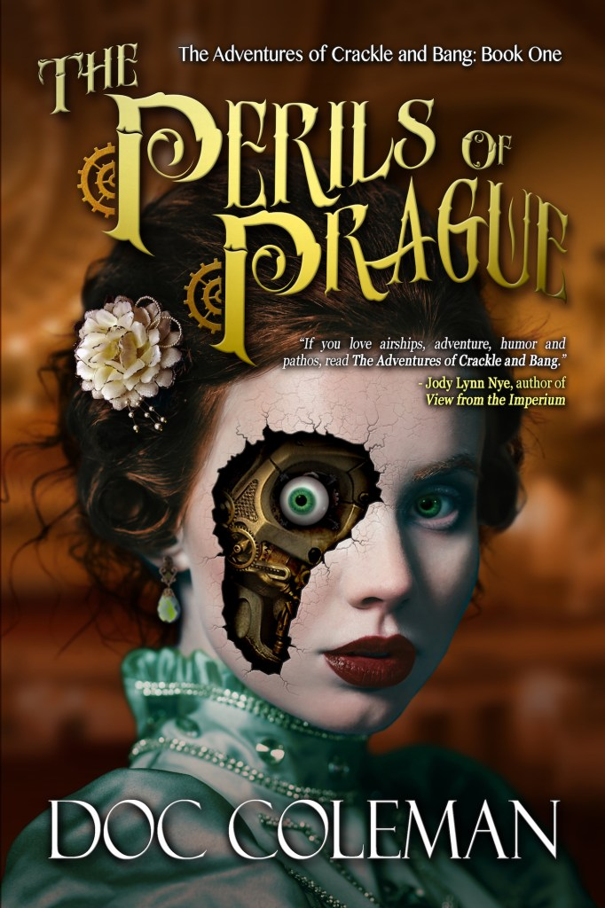 The Perils of Prague, The Adventures of Crackle and Bang, Book One