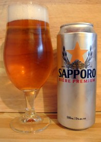2017-06-09 - 183 - Sapporo Premium Lager poured _500beers