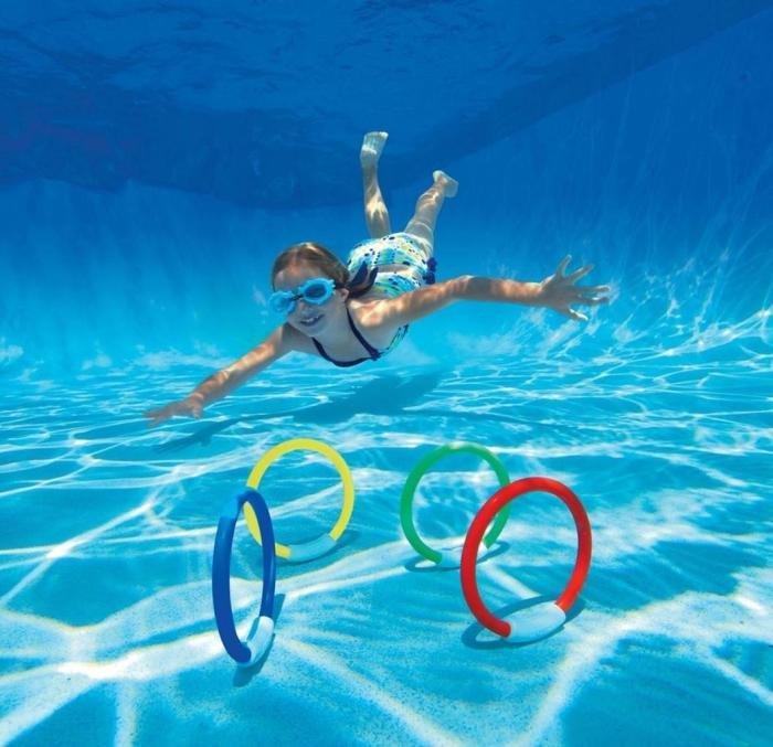 Swimming Game – Ring Retrieval