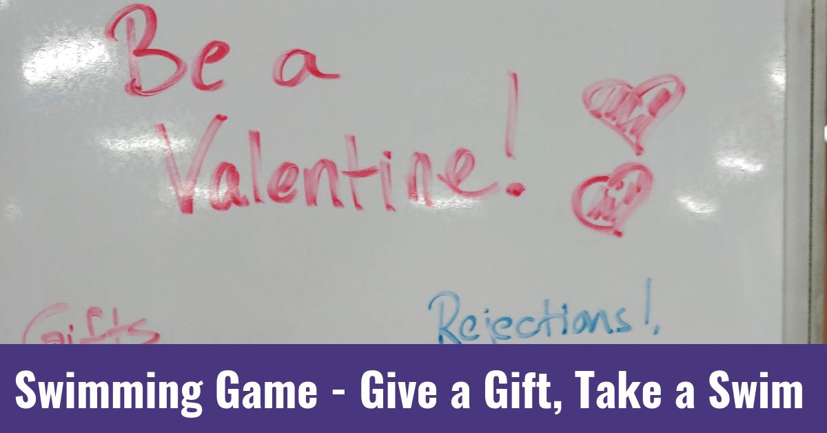 Swimming Game – Give a Gift, Take a Swim