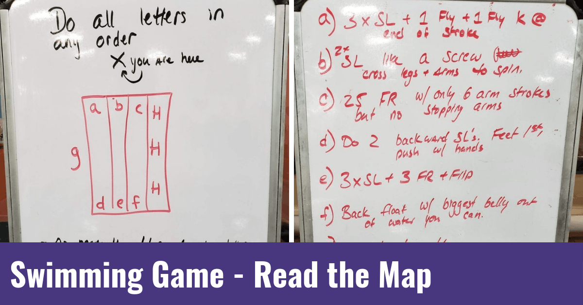 Swimming Game – Read the Map