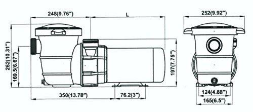 Pentair Sta-Rite 343001 SuperMax VS Pool Pump