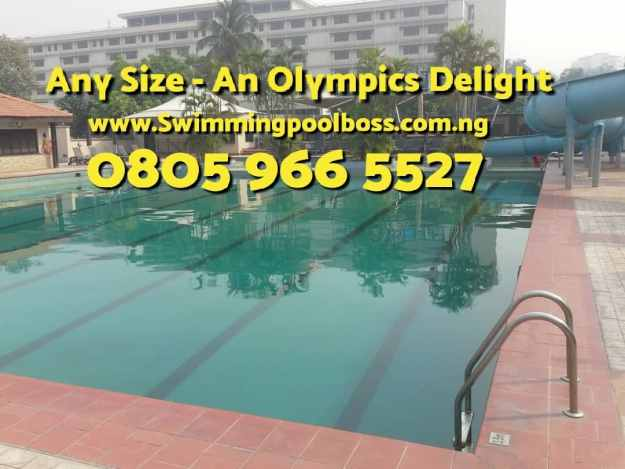 swimming pool construction cost in Nigeria