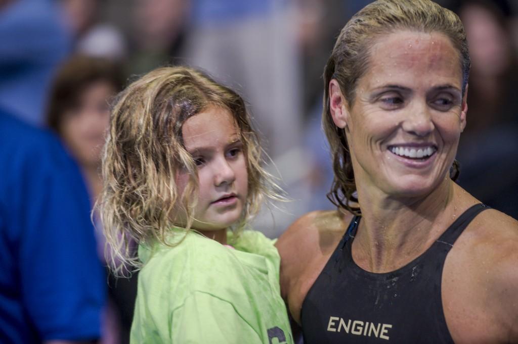 Dara Torres and daughter