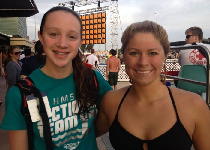 Photo Courtesy: Hopkins Mariner Swim Team