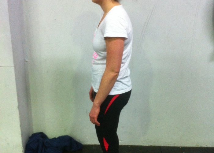 swimmer posture