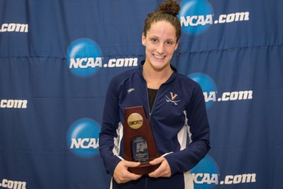 2016.03.18 2016 Womens NCAA Swimming Championships_Virginia Leah Smith