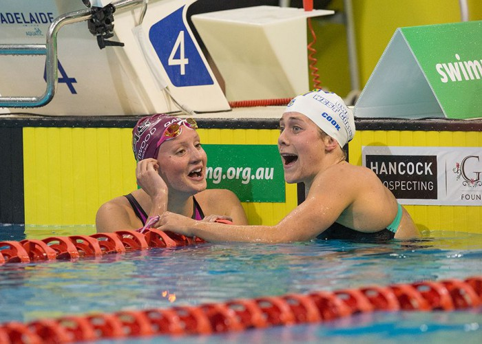 swims in the 2016 Australian Swimming Chamionships, Day 2 at the SA Aquatic & Leisure Centre in Adelaide onFriday, April 7, 2016 in Sydney, Australia. (Photo by Steve Christo)