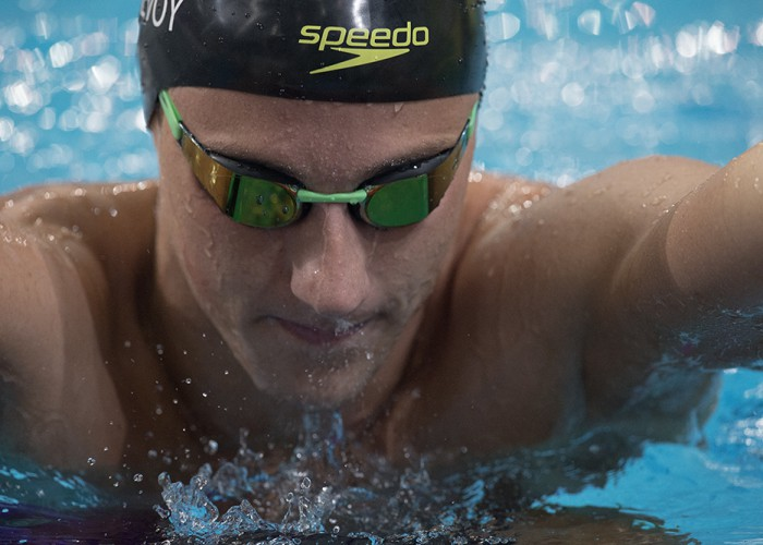 swims in the 2016 Australian Swimming Championships, Day 3 at the SA Aquatic & Leisure Centre in Adelaide on Sunday, April 10, 2016 in Sydney, Australia. (Photo by Steve Christo)