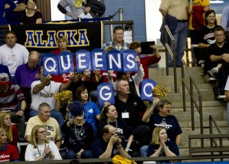 queens-cheering-section