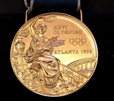 Olympic Gold front