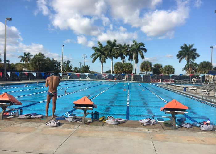 W&M Training Trip FAU Pool