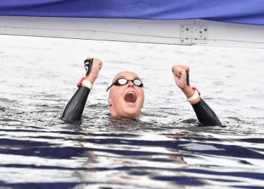 VAN ROUWENDAAL Sharon NED Gold Medal 5km Women Glasgow 08/08/2018 Open Water Swimming Loch Lomond and The Trossachs National Park LEN European Aquatics Championships 2018 European Championships 2018 Photo Andrea Staccioli /Deepbluemedia /Insidefoto