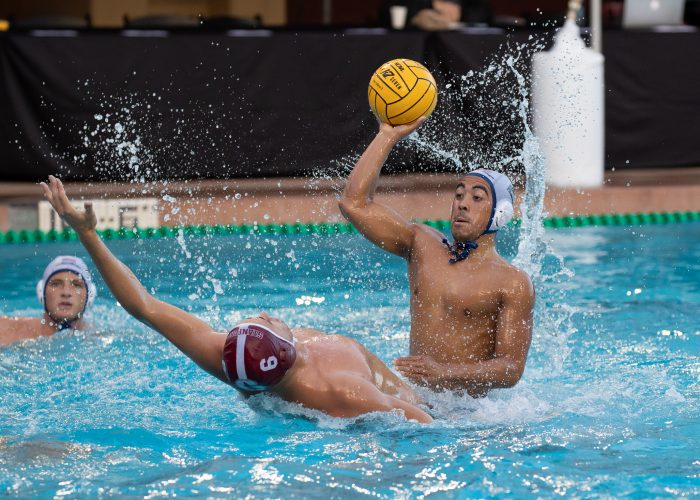 December 1, 2018; , Palo Alto, CA, USA; Collegiate Men's Water Polo:NCAA Semi Finals: UC San Diego Tritons vs Stanford Cardinals; Photo credit: Catharyn Hayne
