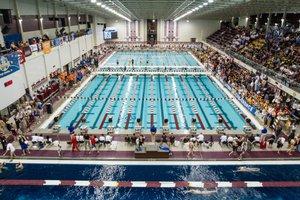Texas A&M pool swim camp