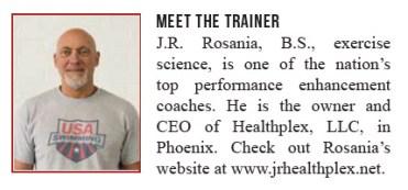 dryside training meet the trainer JR Rosania