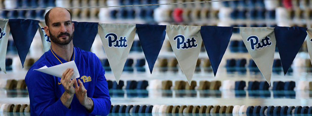 John Hargis Pitt Swimming Camp Coach