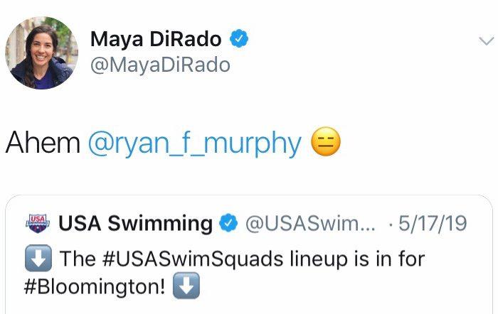 Maya-DiRado-Tweet2