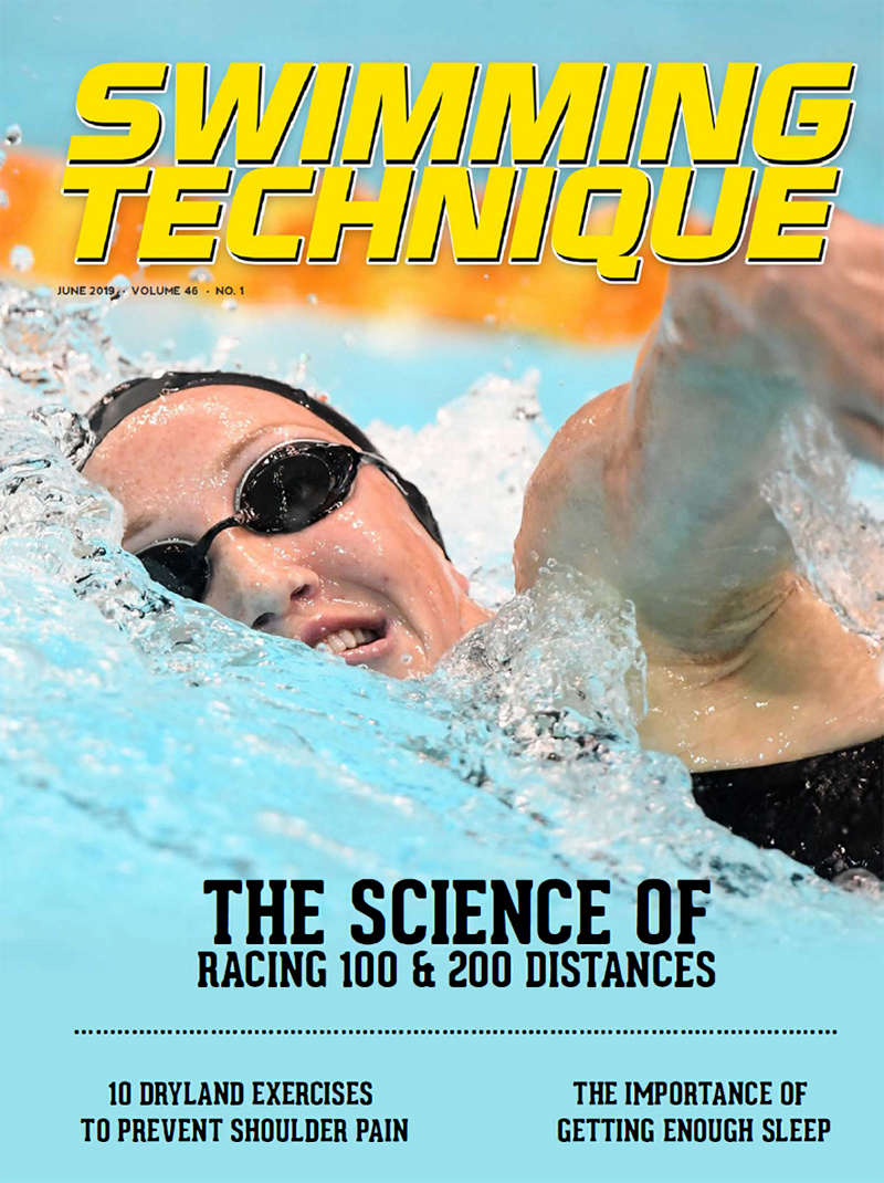 Swimming Technique June 2019 Cover