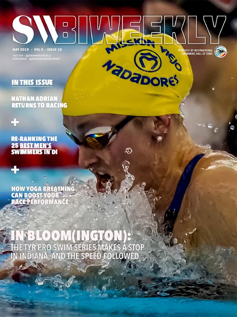 Swimming World Biweekly 5-21-19 Cover