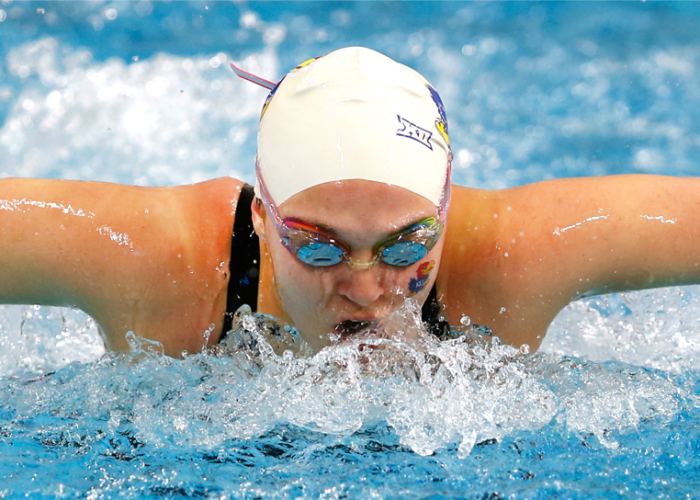 libby-walker-swimming-butterfly-race-kansas-university