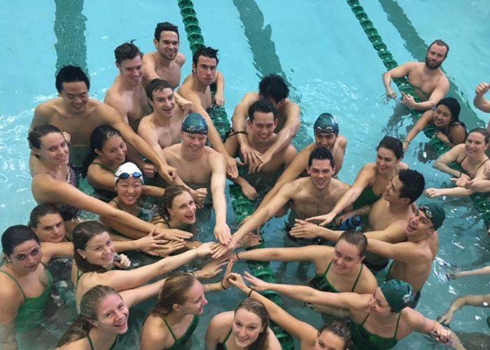 Dartmouth Team - Goldminds Swimming World August 2019